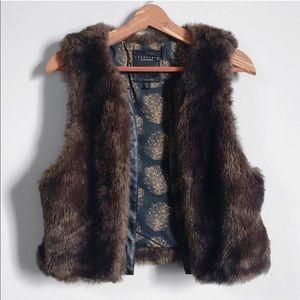 Sanctuary Clothing - faux fur vest -Anthropologie